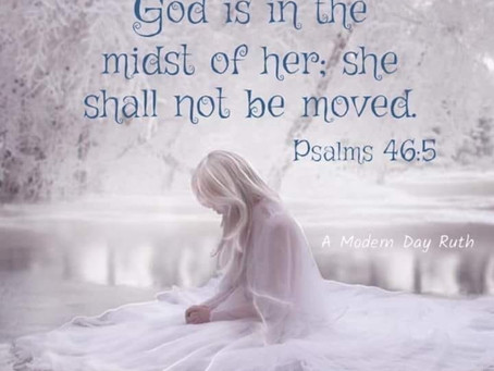 Shrouded in the Holy Spirit