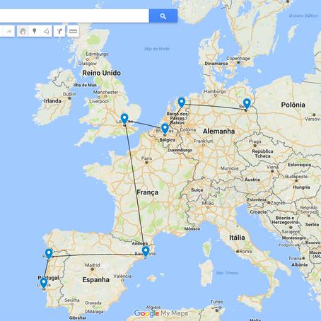 DICAS: Planejando uma viagem de 30 dias para Europa