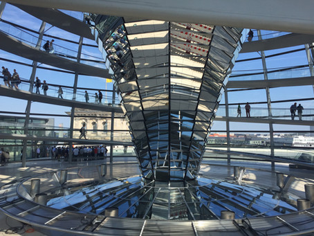 BERLIM: Café da manhã no Reichstag