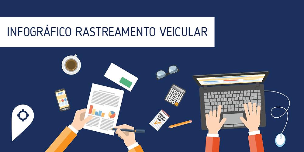 Infográfico do Rastreamento Veicular