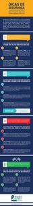 Infográfico Dicas de Segurança