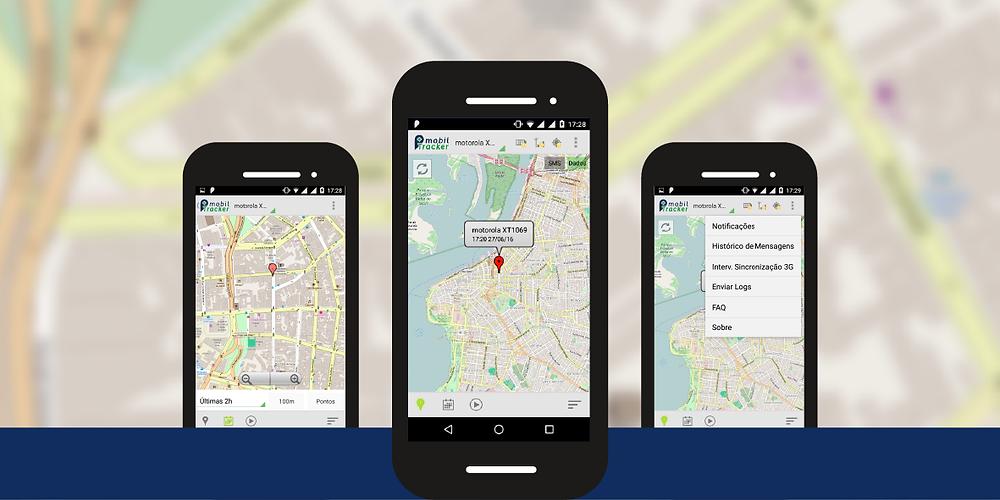 Aplicativo Monitor com Open Street Map