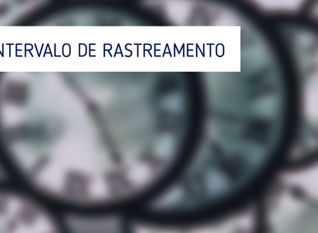 FAQ | Intervalo de Rastreamento