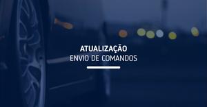 Nova página de Envio de Comandos