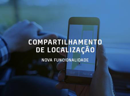 Compartilhamento de Localização - Nova Funcionalidade