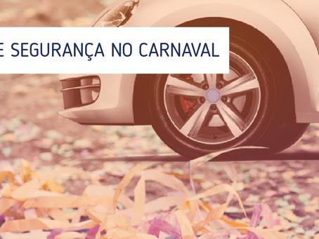 Carnaval: Dicas de Segurança