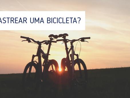 Como rastrear uma bicicleta?
