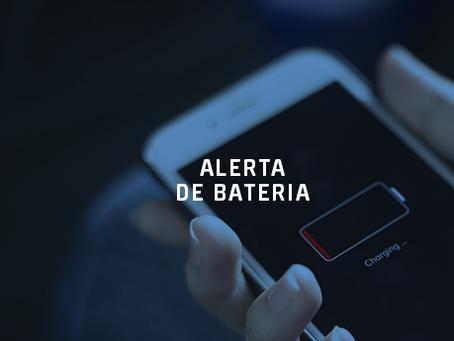 Saiba tudo sobre o Alerta de Bateria