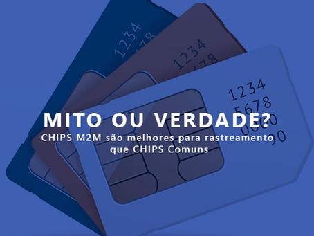 Mito ou Verdade? Chips M2M são melhores para rastreamento do que Chips Comuns