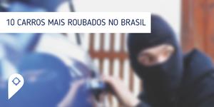 Conheça os 10 carros mais roubados no Brasil