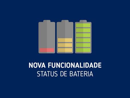 NOVIDADE | Novo Status: Bateria