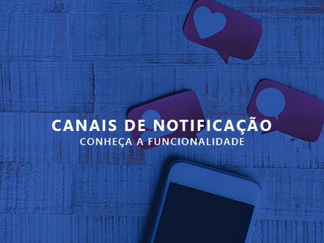 Conheça os Canais de Notificações da plataforma Mobiltracker
