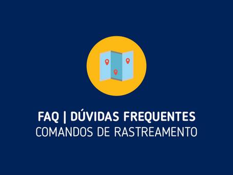 FAQ | Comandos de Rastreamento