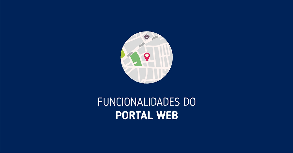 Funcionalidades do Portal Web - Mobiltracker