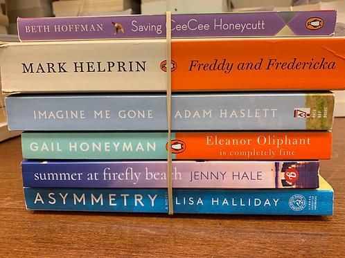 Hoffman, Helprin, Haslett, Honeyman, Hale, Halliday