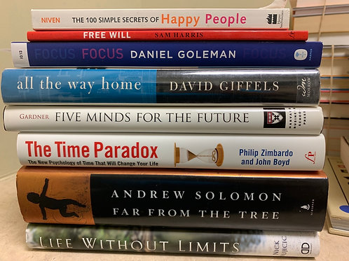 Psychology- Focus, Free Will, Time, Happy People
