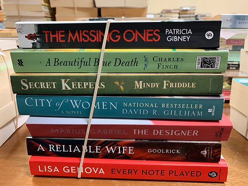 Gibney, Finch, Friddle, Gillham, Gabriel, Goolrick, Genova