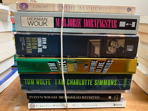 Coelho, Wouk, Wolfe, Walker, Waugh, Woolf