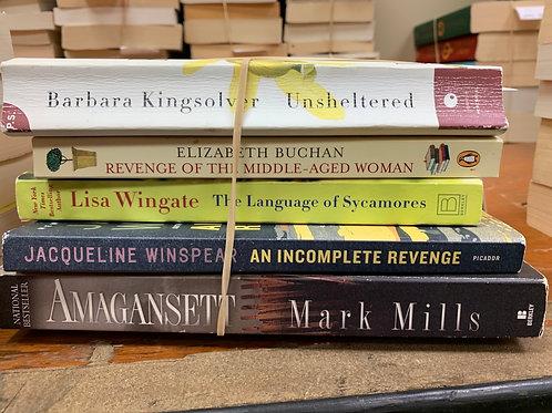 Kingsolver, Buchan, Wingate, Winspear, Mills