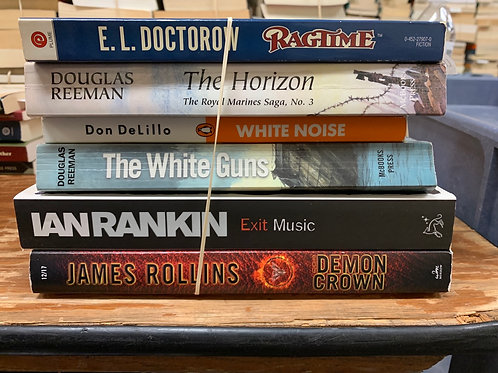 Doctorow, Reeman, DeLillo, Rankin, Rollins