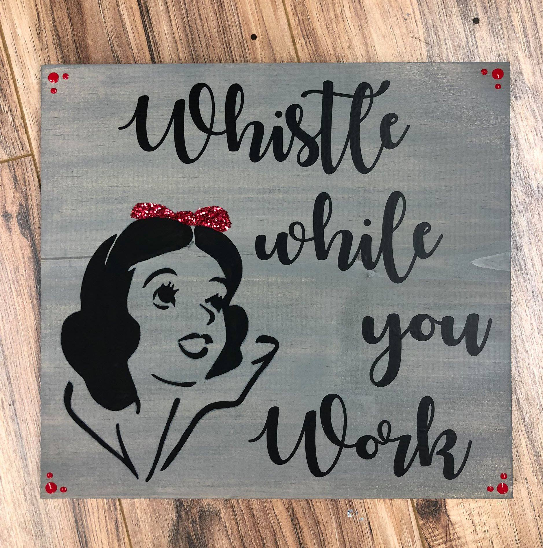 Snow White Wood Board
