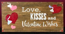 """Valentine Wishes - 10x19"""""""
