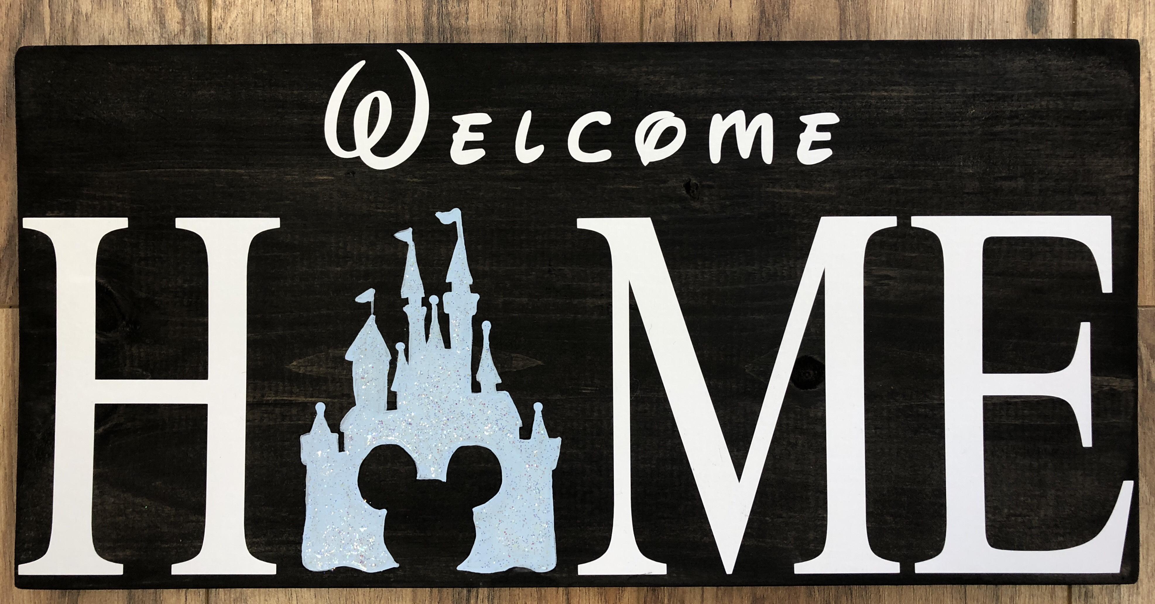 "Disney Home - 10x19"""