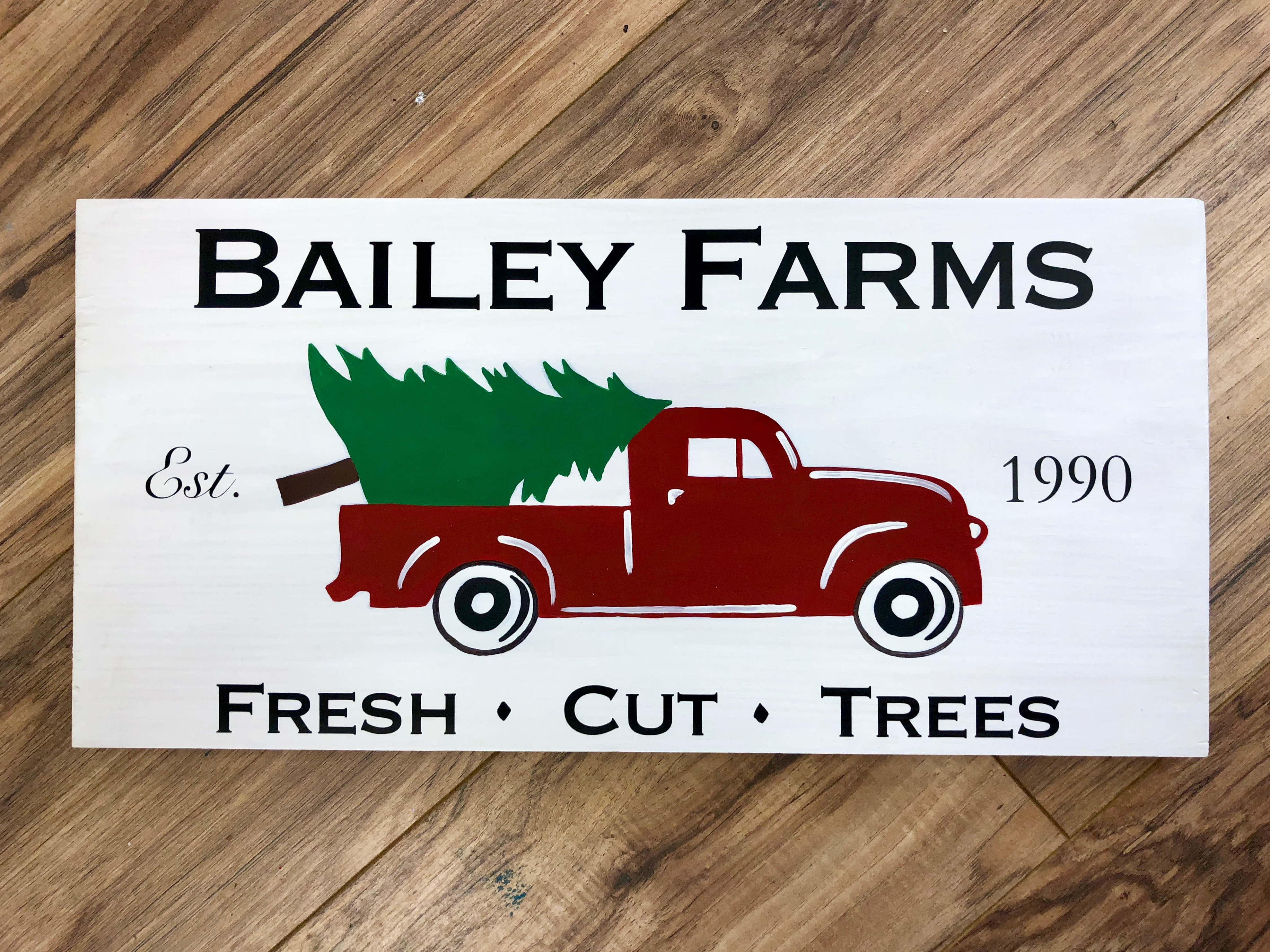 Christmas Farms - Personalized!