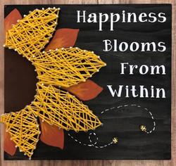 Sunflower String Art