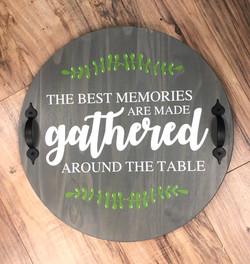 Gathered Wood Tray