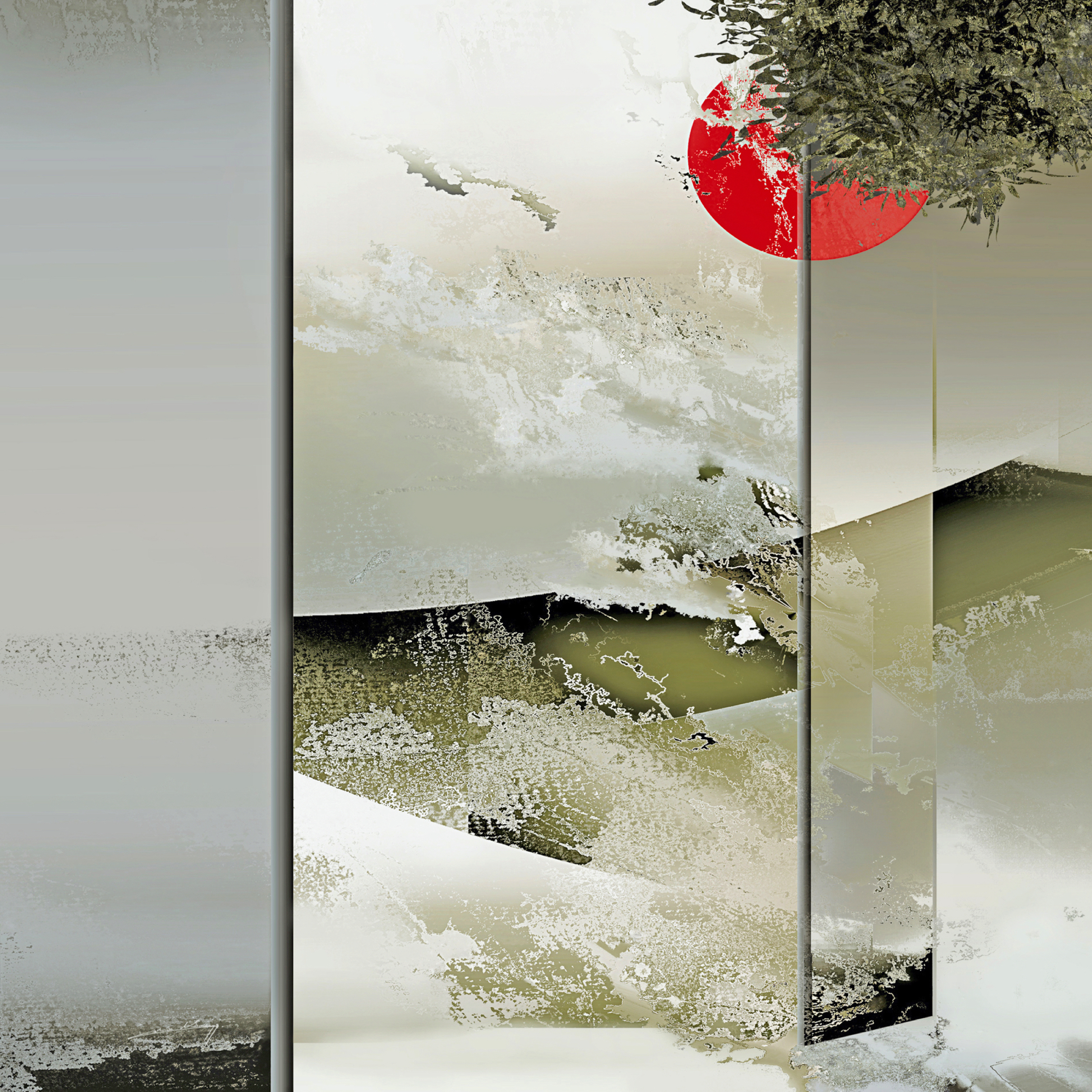 © Kibò - Espoir 90 x 90 cm