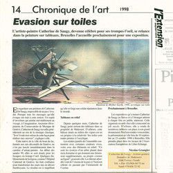 1998 L'EXTENTION  Nicolas GRANGIER