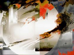 © L'Automne à Pékin  56 x 40 cm