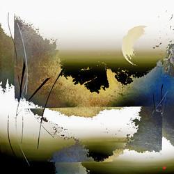 © Hécate 110 x 110 cm
