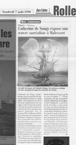 1998 LA COTE_Surréalisme_à_Malessert