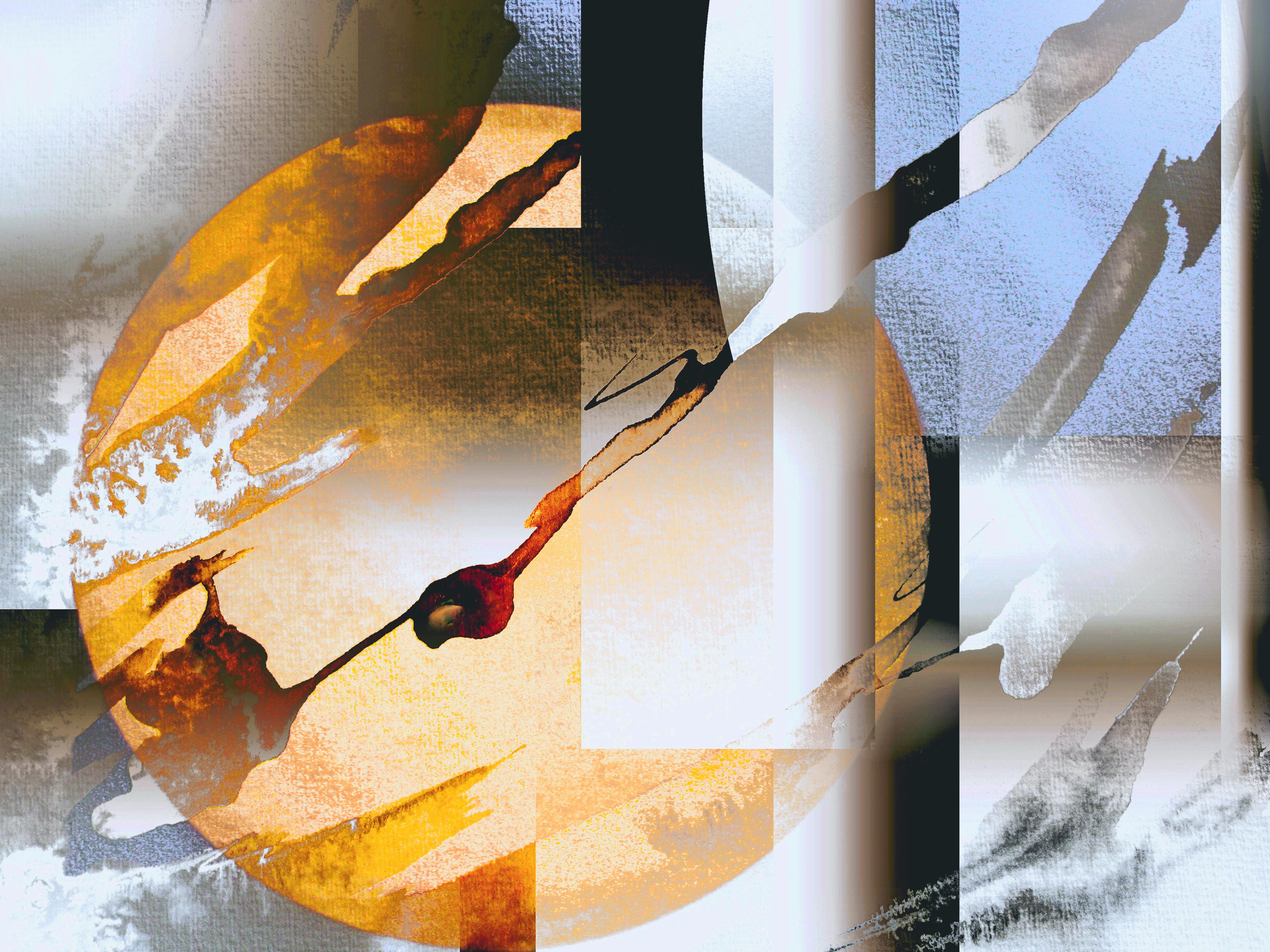 © Saturne  45 x 34 cm