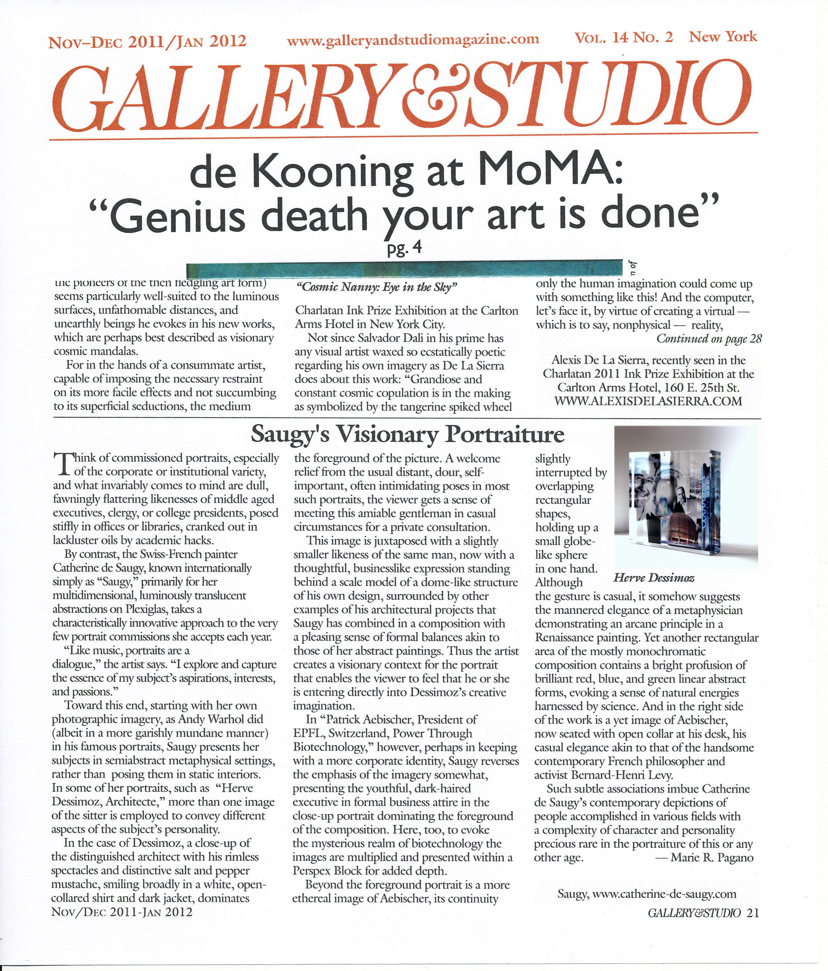 2012 Gallery & Studio N.Y. Maria PAGANO