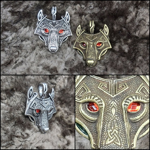 Kettenanhänger Wolf
