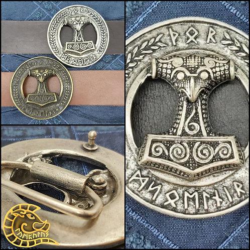 Gürtelschließe Thors Mjolnir 40mm