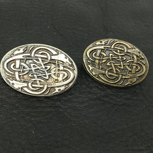 Zierniete keltische Hunde
