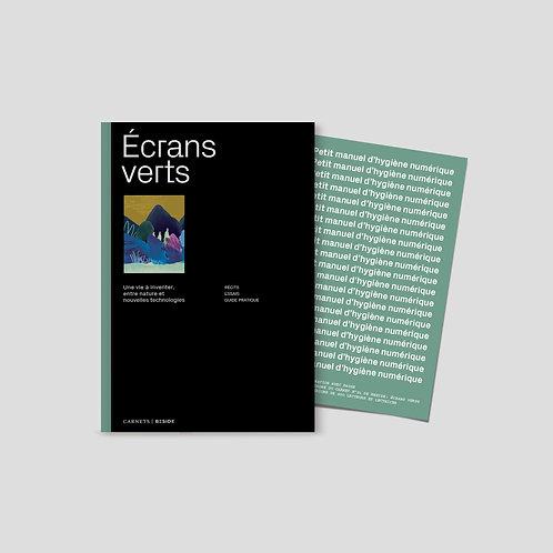 Carnet BESIDE 01 - Écrans verts