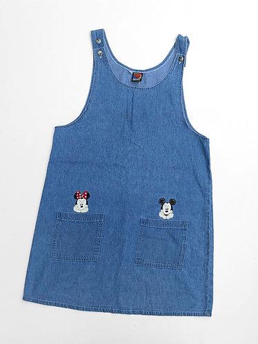 Robe vintage en denim Mickey Unlimited