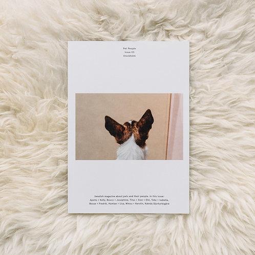 Pet People Magazine Vol 3 - Stockholm