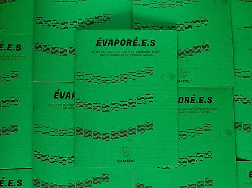 Quiproquo Vol. 3 Évaporé.e.s - Papier + PDF