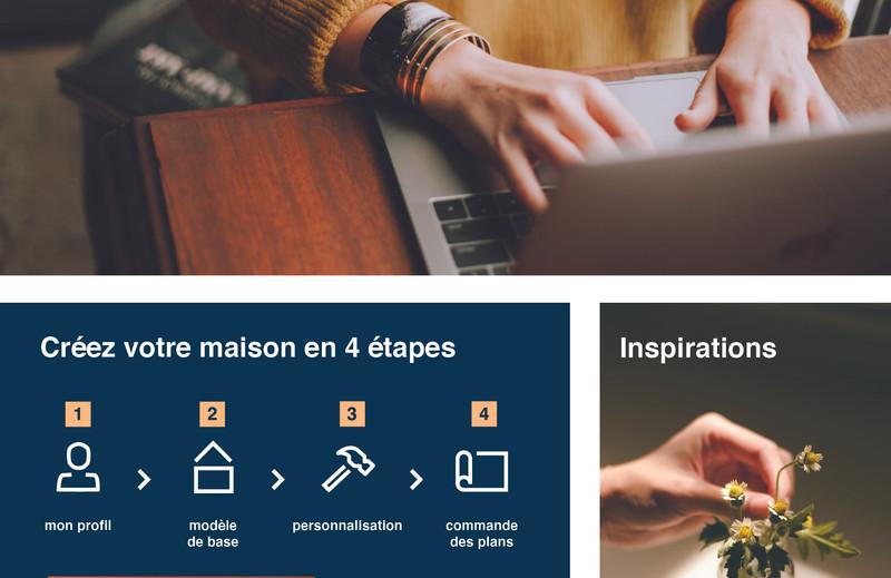 Maquette site web maket