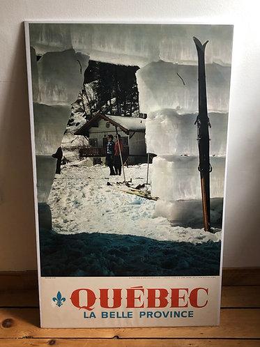 Affiche Québec La Belle Province 1960s - En toute saison