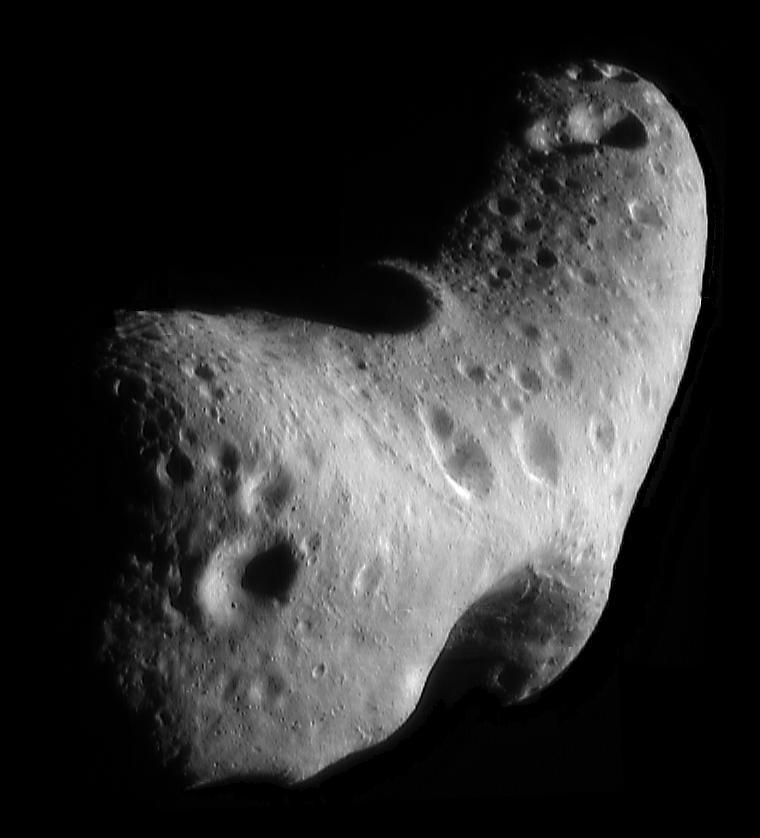 會合-舒梅克號所攝得的愛神星照片