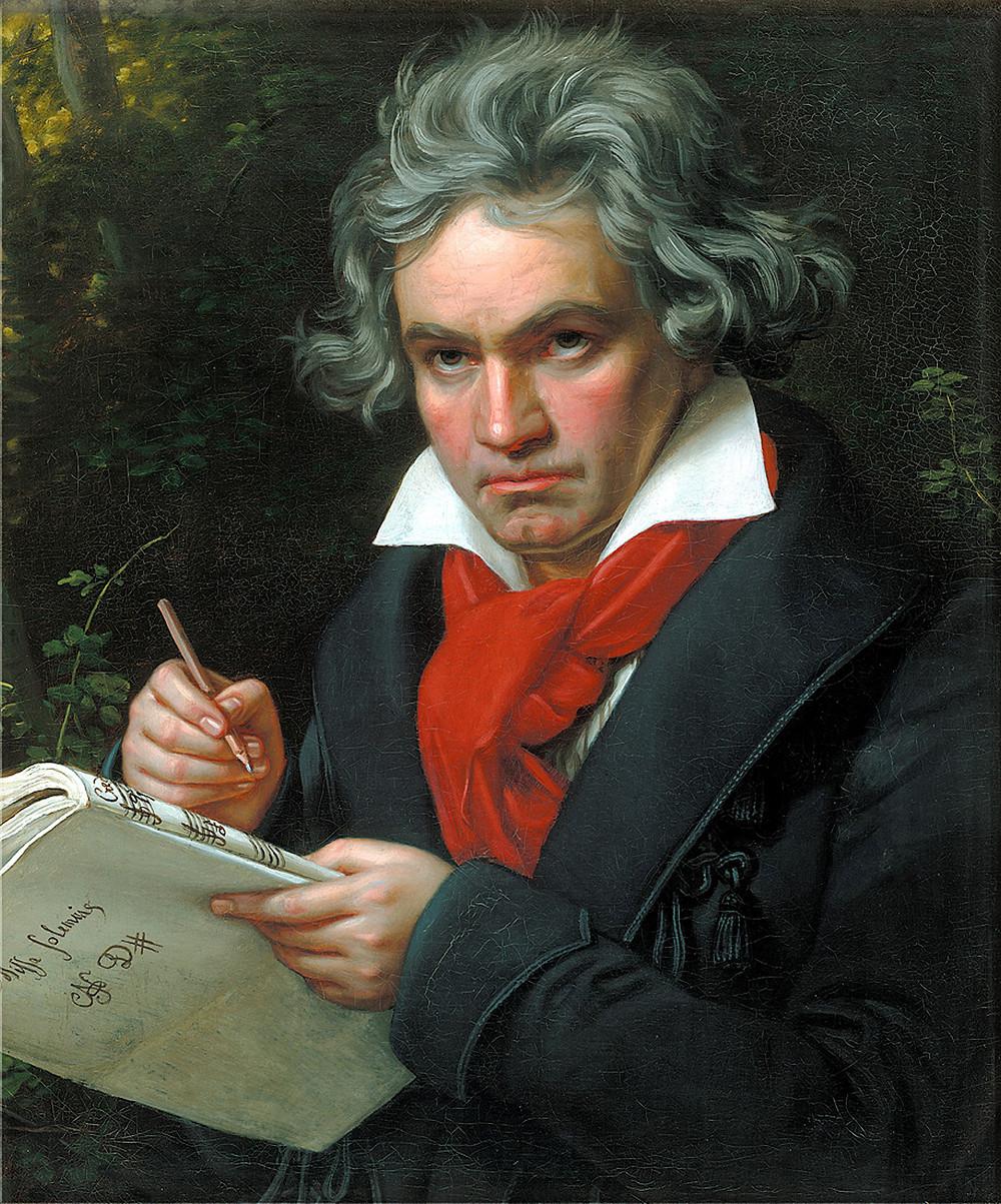 貝多芬的肖像畫