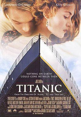 《泰坦尼克號》的宣傳海報