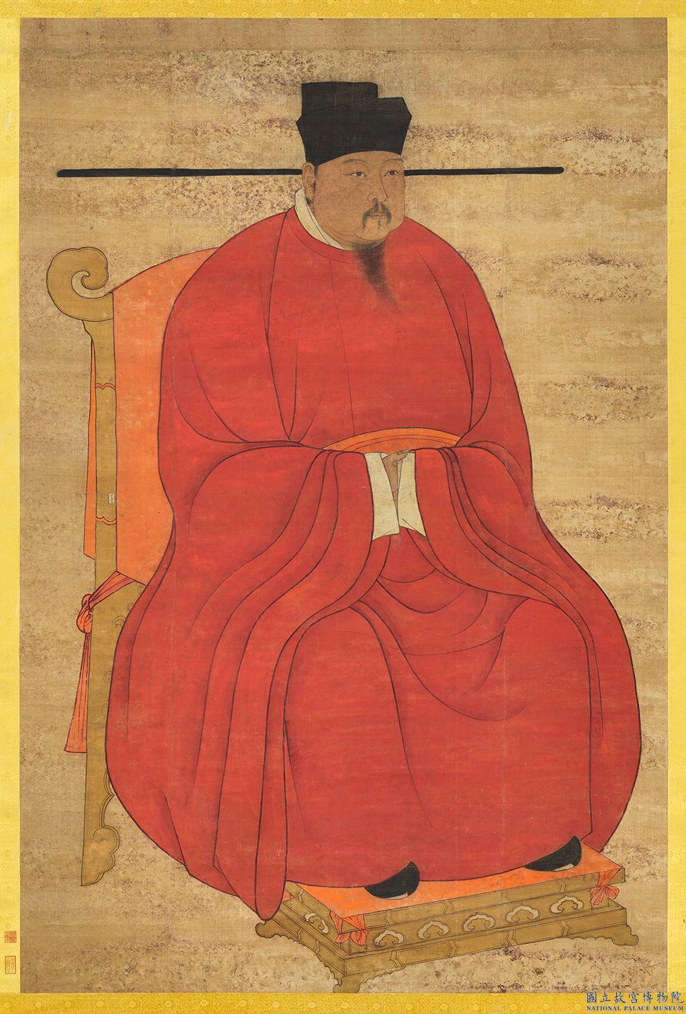 宋真宗元孝皇帝肖像